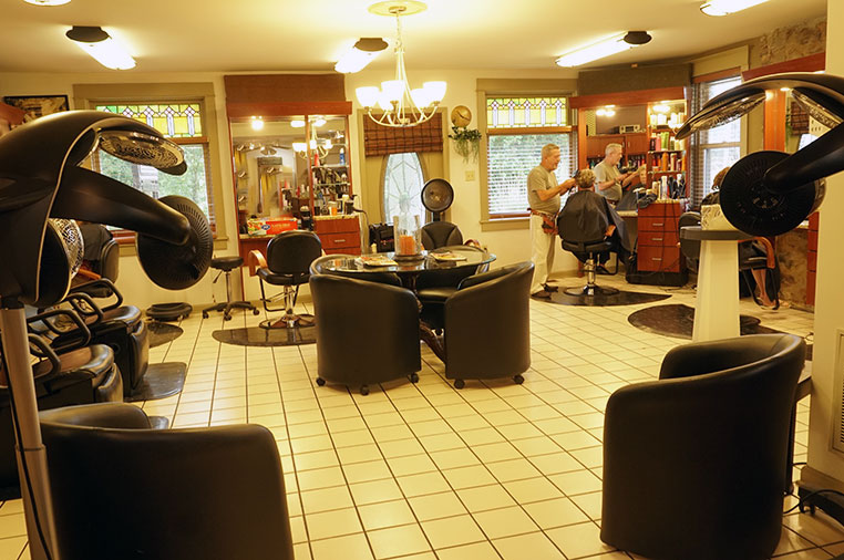 Inside B. Young Salon